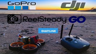 DJI FPV Goggles vs GoPro 6 with ReelSteady GO 2.7K 60fps