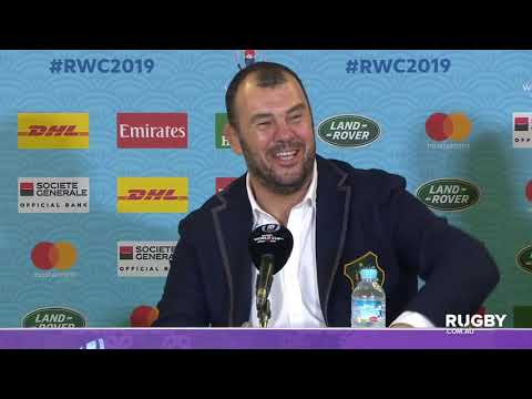 Rugby World Cup 2019: Australia vs Georgia, Wallabies press conference