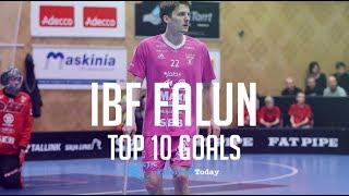 IBF FALUN TOP 10 PLAYOFF GOALS