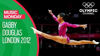 Gabby Douglas Gold Medal Floor Routine Performance At London 2012 | Music Monday