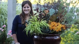 Fall Shade Planter