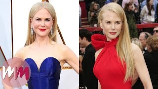Top 10 Gorgeous Nicole Kidman Red Carpet Looks