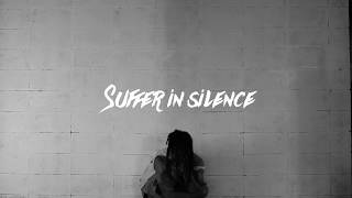 SUFFER IN SILENCE FT. GALLVS (OFFICIAL LYRIC VIDEO)