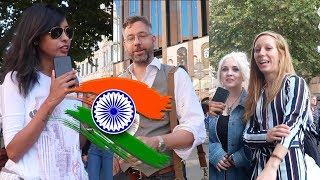 What the world think and know about India | #talkwithkhushi