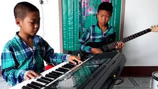 Mưa Rừng - Hòa tấu Guitar Organ  - Nhạc sống Phong Bảo