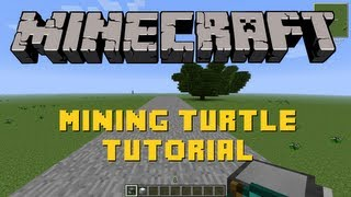 Minecraft | Mining Turtle Tutorial | Feed the Beast