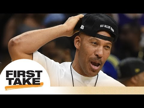 First Take argues over LaVar Ball's behavior | First Take | ESPN