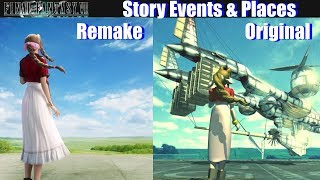 Final Fantasy VII Remake Locations & Story Events - FF7 Remake vs Original Update