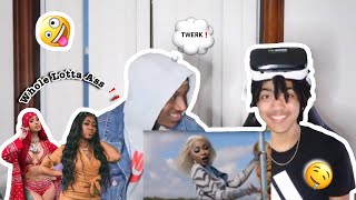 City Girls   Twerk Ft. Cardi B Ft. Cardi B (REACTION)