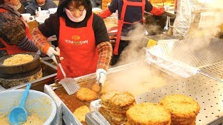 KOREAN STREET FOOD TOUR of GWANGJANG Market in SEOUL, South Korea