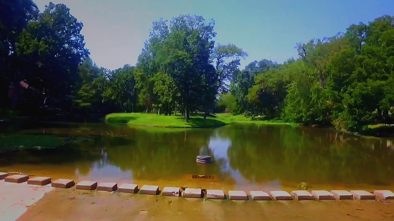 Video of golf course spillway repair done by Cardinal Strategies