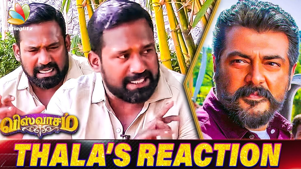 Ajiths Reaction to his Fans Love for him : Robo Shankar Interview | Thalas Viswasam