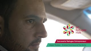 BC Refugee HUB: Successful Refugee Entrepreneurs - Hasan Sheblak