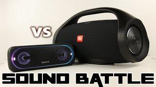 JBL Boombox vs Sony SRS XB40 :SoundBattle