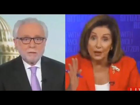 Nancy Pelosi Snaps When Asked About Hungry Americans By Wolf Blitzer (TMBS 160)