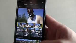 Монтаж видео на Айфоне 6 в IMovie
