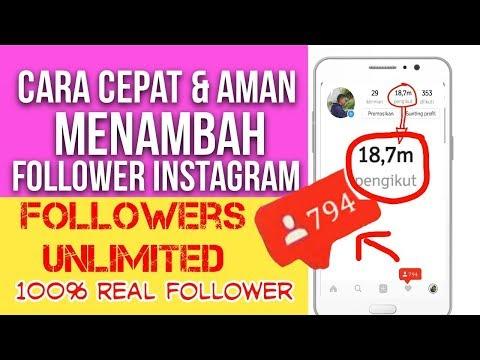 Video Cara Menambah Followers Instagram Cepat Dan Aman