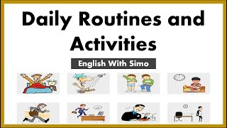 Daily Routines and Activities: English With Simo