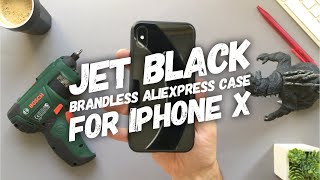 Jet Black iPhone X or iPhone Xs? • No Brand Jet Black iPhone X and iPhone Xs Case Review