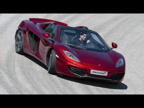 McLaren MP4-12C Spider tested on road and track by www.autocar.co.uk