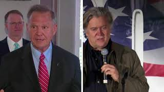 Steve Bannon Joins Support for Roy Moore in Senate Race