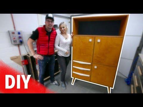 Möbel selber bauen.  Schrank / Highboard mit Schubladen für Anfänger