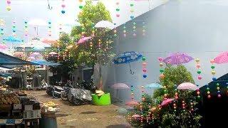 Pernak-pernik Berwarna Kini Hiasi Pasar Kuliner Martapura