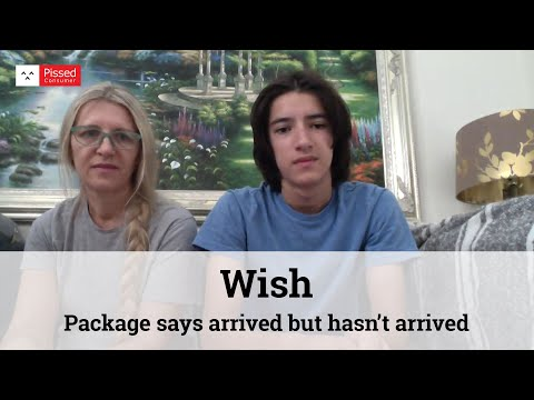 Wish - Package says arrived but hasn't arrived
