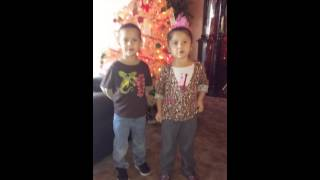 Ellyana & Eli Moreno 4 years old twins.