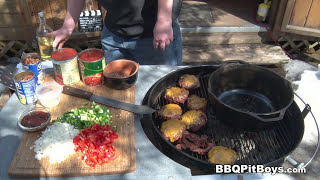 Bacon Cheeseburger Chili recipe by the BBQ Pit Boys