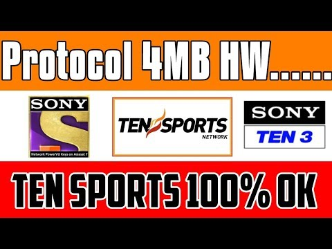 Protocol 4mb New Software 2019|| Ten Sports ok on Asiasat 7||Crazy