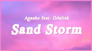 """Sand Storm - Apashe feat. Odalisk (Lyrics) """"Look now you're talking to your highness"""" (TikTok song)"""