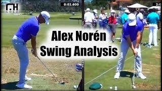 Alex Noren Swing Analysis