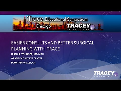 AAO 2016 iTrace Users Meeting, Part 3 of 3 with Jared R. Younger, M.D.