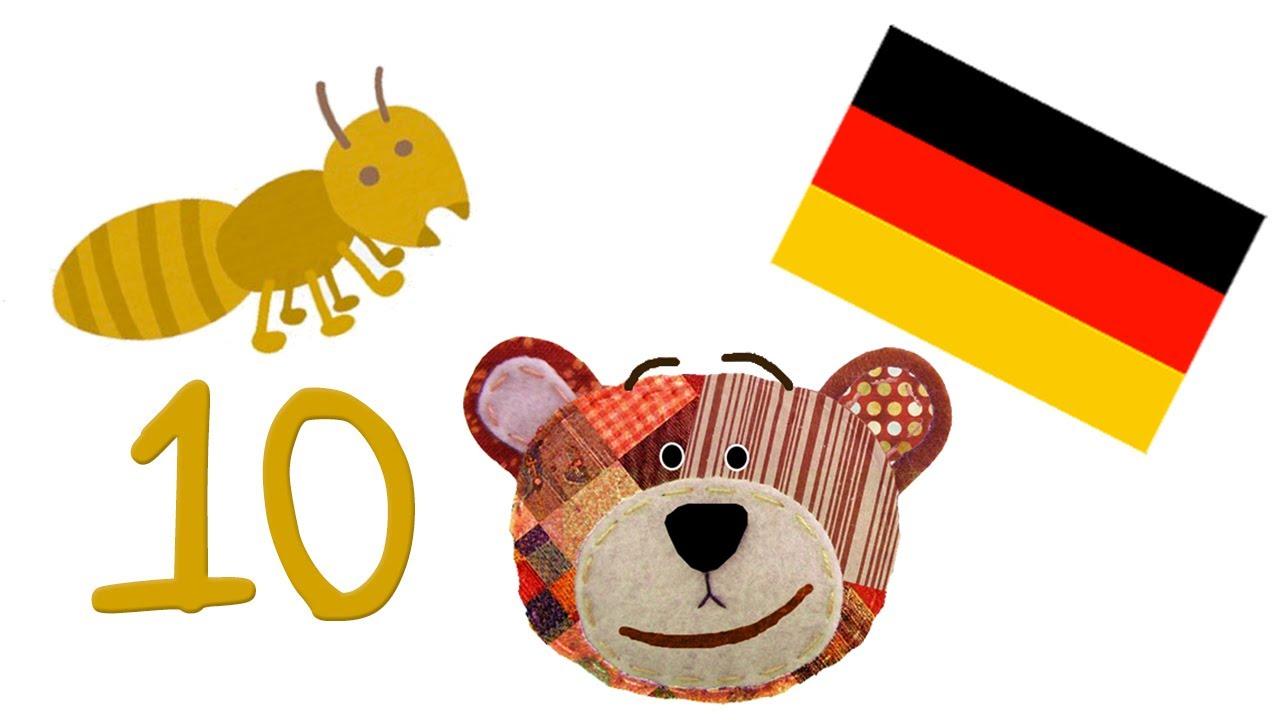 Traposo enseña a contar del 1 al 10 en alemán