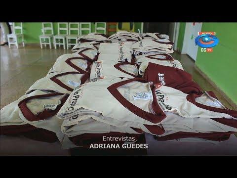 Alunos de Vila ganham uniformes; Novo episódio da Saúde em Barro Alto e mais no Café desta quarta