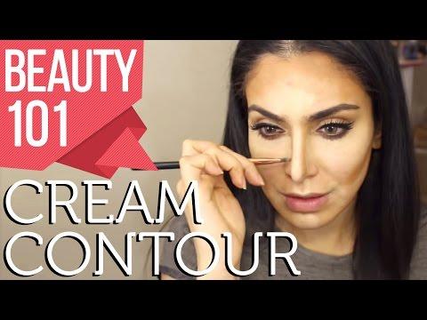 Beauty 101 | Cream Contouring Made Easy! \ تقنيّة سهلة للكونتور بالكريم