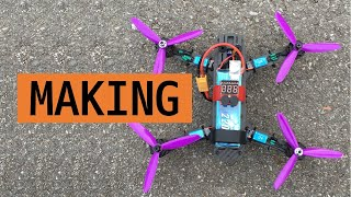레이싱드론 만들기 / Making Racing Drone