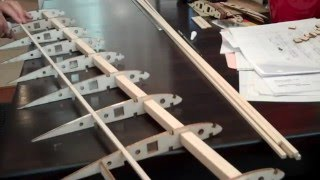 Building an Airplane Wing! Balsa Wood, For RC plane