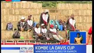Wakenya wang'aa katika siku ya kwanza ya Davis Cup
