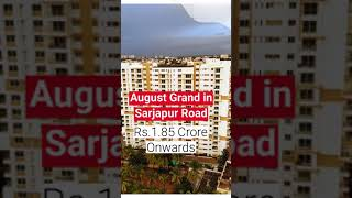 Ready to Move Flats for Sale in Sarjapur Main Road   ₹2.16 Crore Onwards