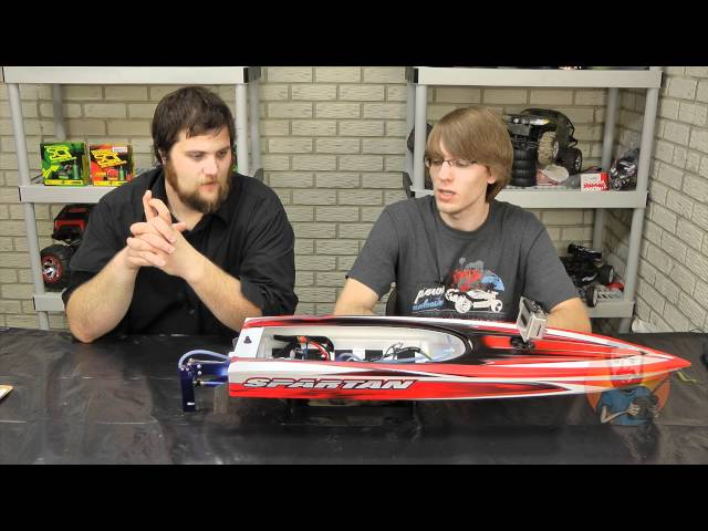 Traxxas Spartan RC Boat Review Video