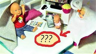 ОТКУДА ЛУЖА? КАТЯ И МАКС ВЕСЕЛАЯ СЕМЕЙКА. Мультик про кукол.