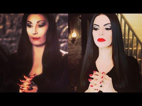 Maquillaje Halloween: Transformación Morticia Addams