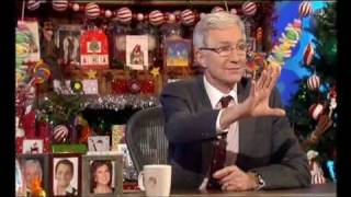 Christopher Biggins says arse and Joe Swash says cock - Paul O'Grady Show 15th December 2008