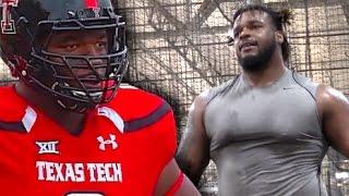 Defensive Tackle | Ondre Pipkins : 6'3 325 | Texas Tech Spotlight | NFL Bound