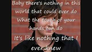 When I See You Smile - Clay Aiken ( Lyrics / Text )