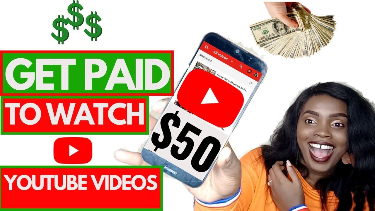 EARN MONEY $50 EACH DAY BY ENJOYING YOUTUBE VIDEOS/ Earning money online thumbnail