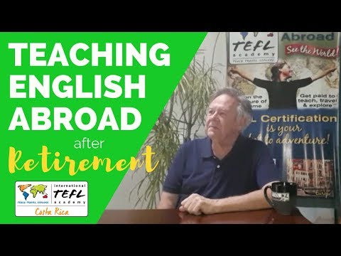 Teaching English Abroad after Retirement with Jack