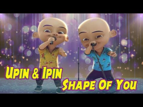 ED Sheeran - Shape Of You Feat Upin Ipin Versi Acoustic Guitar Cover